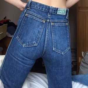 authentic 70s bell bottoms jeans